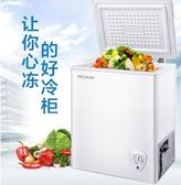 116L家用小冰櫃大容量商用冷櫃迷妳小型冷凍櫃冷藏保鮮兩用