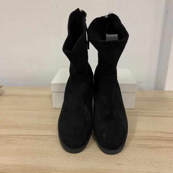 馬丁靴低跟短靴裸靴短筒靴(42號/777-5205)