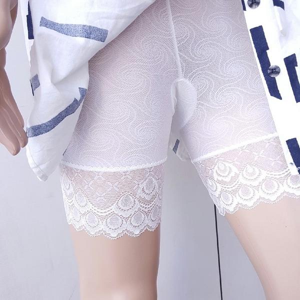 內搭褲【TPU008】蕾絲圓圈透氣內搭安全褲(三分褲) #1602 收納女王