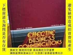 二手書博民逛書店Effective罕見business communicatio