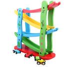 嬰幼男小汽車玩具益智四層滑翔車軌道飛車1-2-3-6周半歲 WD