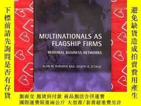 二手書博民逛書店MULTINATIONALS罕見AS FLAGSHIP FIRM