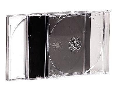 ◆免運費◆DigiStone 單片裝 CD/DVD 標準優質壓克力硬盒(10mm)-全透明色/透明底色 x100PCS