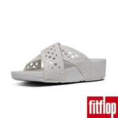 FitFlop】LULU WICKER WEAVE CROSS SLIDES(都會白)限時回饋6折