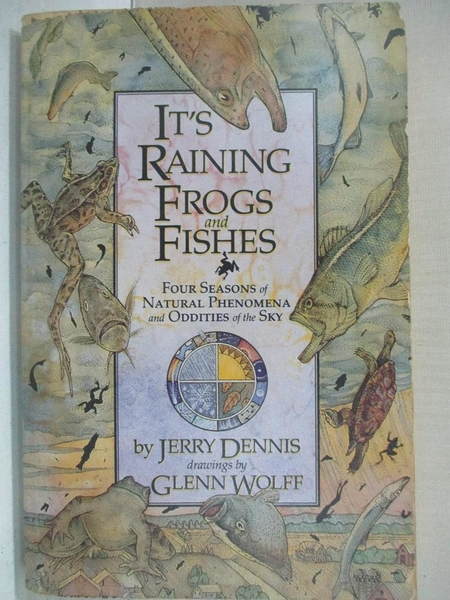 【書寶二手書T1/原文小說_BY5】It s Raining Frogs and Fishes: Four Seasons of Natural