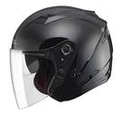 【東門城】SOL SO-7 素色(黑) 半罩式安全帽 內墨鏡片