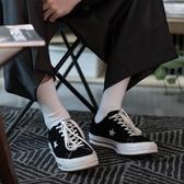 男襪子 春夏棉質街頭潮白色堆堆襪加厚高幫襪男高筒中筒長筒長襪子女ins