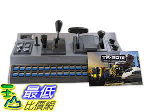 [8美國直購] RailDriver USB Desktop Train Cab Controller with Train Sim 2019 (RailDriver, RailDriver + TS2019) RD-91-MDT