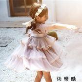 兒童中大童裝蓬蓬裙紗裙子洋氣公主裙