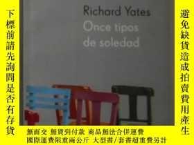 二手書博民逛書店西班牙語原版罕見Once Tipos de Soledad de