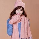 圍巾+毛帽+手套羊毛三件套-韓版可愛多彩保暖加厚防寒配件組合9色71an25【巴黎精品】