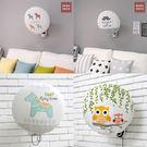 時尚可愛電風扇罩3 可愛圓形防灰塵電暖爐風扇罩