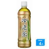 光泉冷泡茶-冰釀烏龍(無糖)585ml*4入【愛買】