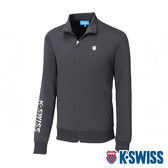 【超取】K-SWISS Knit Jacket運動外套-男-黑