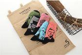 韓國襪子 名人系列中筒襪子 個性男款 潮流襪子 襪子 短襪 長襪 船襪 男襪 女襪 韓襪