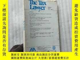 二手書博民逛書店The罕見Tax Lawyer VOL.60 NO.1 FALL