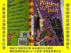 二手書博民逛書店winnie罕見the twit 小妞溫妮Y200392