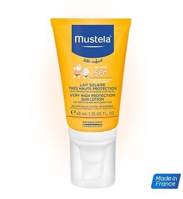 Mustela慕之恬廊 高效性兒童防曬乳SPF50+(40ml)~新包裝