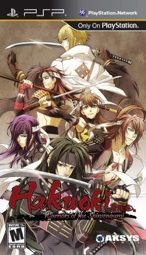 PSP Hakuoki: Warriors of the Shinsengumi with Bonus Item 薄櫻鬼:新撰組獎金爭奪戰(美版代購)