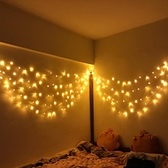 星星彩燈裝飾燈泡節日臥室滿天星夢幻串燈宿舍文藝掛燈浪漫小清新ATF 青木鋪子