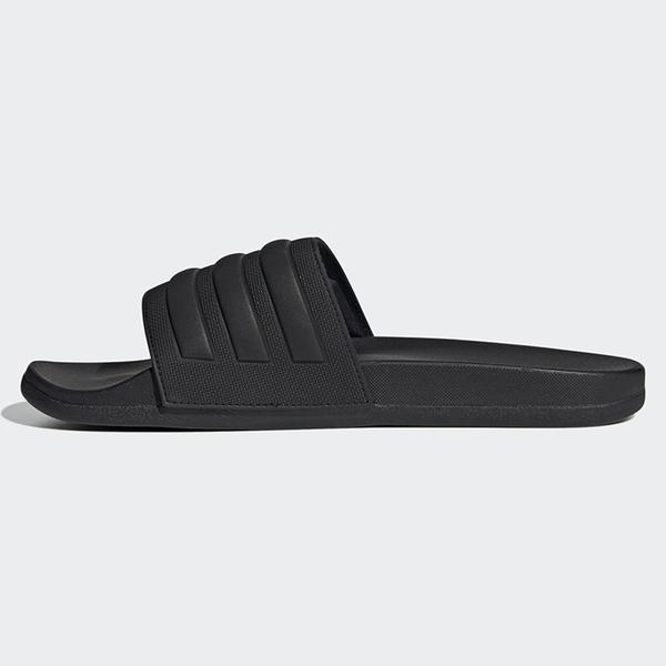 ADIDAS ADILETTE COMFORT SLIDES 男鞋 拖鞋 休閒 防水 基本 黑【運動世界】FW5337