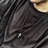 韓國風BLIN十字架信仰力量復古男女情侶吊墜1314數字項鍊子毛衣鍊