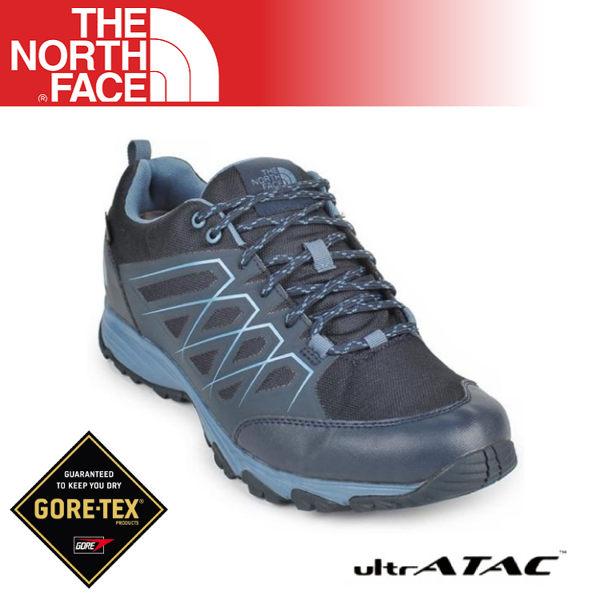 【The North Face 男 Gore-Tex徒步鞋《海軍藍》】3MLX/登山鞋/越野鞋/健行鞋/跑步/超輕/防水透氣