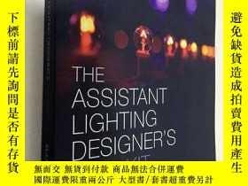 二手書博民逛書店英文原版罕見The Assistant Lighting Designer s Toolkit 助理照明設計師 平