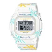 CASIO 卡西歐 手錶專賣店  BGD-560CF-7D BABY-G 美國西岸海灘風情電子女錶 橡膠錶帶 白色 防水200米