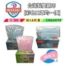 (台灣製現貨速發雙鋼印) FUJI-NEO 不二新創獨立包裝 一袋一片成人/兒童 醫用 平面口罩 50片/盒