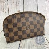 BRAND楓月 LOUIS VUITTON LV N47516 經典 棋盤格 化妝包 小包 POUCH