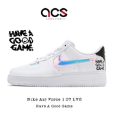 Nike 休閒鞋 Air Force 1 07 LV8 七彩 男鞋 AF1 Have A Good Game 電動主題設計 【ACS】 DC0710-191