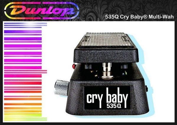 【小麥老師 樂器館】Dunlop MXR 535Q Cry Baby Wah 娃娃 效果器 踏板
