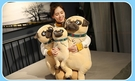 【45公分】囧沙皮狗娃娃 小狗玩偶 網紅公仔 聖誕節交換禮物 生日禮物 兒童節禮物 餐廳布置設計