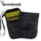 【蜂鳥 greenhermit 掛式証件包 黑】 CT5102/証件包/輕量包/零錢包/