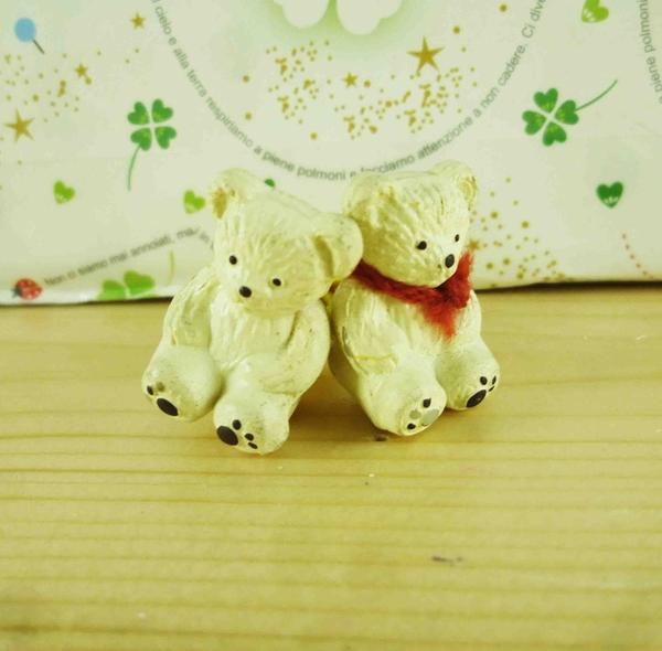 【震撼精品百貨】泰迪熊_Teddy Bear~2入髮束-米