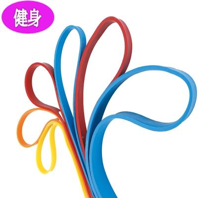 【運動】C-5701 大環狀(乳膠)阻力帶-黃色 (只)