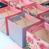 禮袋創意喜糖盒手提袋禮品袋小號手提紙袋包裝袋個性韓式回禮喜糖禮袋-凡屋