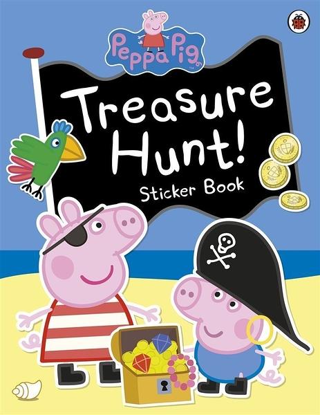 Peppa Pig:Treasure Hunt! Sticker Book 佩佩豬的海盜冒險 貼紙故事書