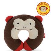SKIP * HOP 可愛動物園頸枕-猴子、貓頭鷹