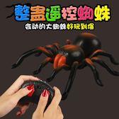 遙控蜘蛛整蠱仿真電子動物模型互動搞怪嚇人創意奇特 全館免運