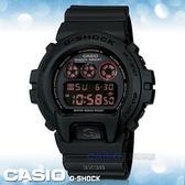 CASIO手錶專賣店 卡西歐  G-SHOCK DW-6900MS-1D 電子錶 低調霧面黑  防震 G-FORECE系列經典款