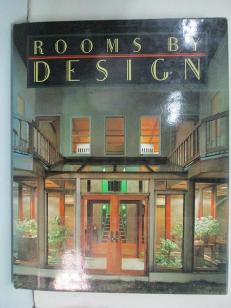 【書寶二手書T1/建築_EPC】Rooms by design_Gerd Hatje, Herbert Weisskamp