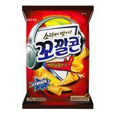 Lotte 金牛角玉米點心 辣味 72g