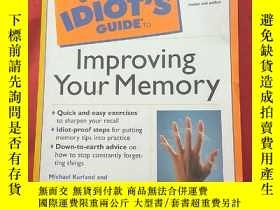 二手書博民逛書店IDIOT罕見S GUIDE TO Improving Your