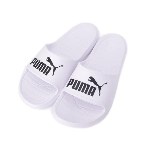 PUMA DIVECAT V2 一體成型套式拖鞋 白 369400-02 男女鞋 鞋全家福