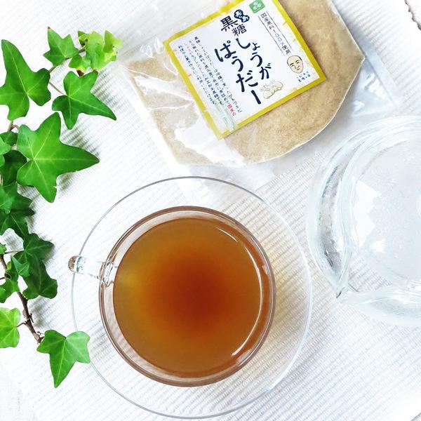 日本進口黑糖薑粉/薑湯/補氣暖胃/驅寒/薑茶粉/黑糖薑茶/200g日本直運