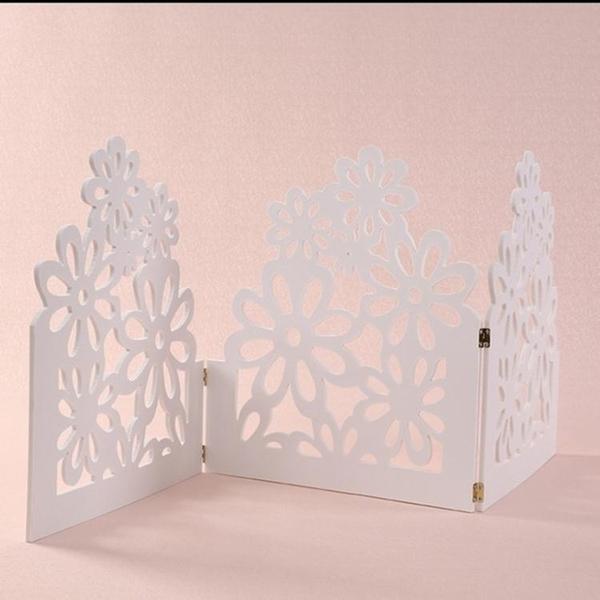 婚慶雕花圍牆雪弗板圍欄柵欄家居婚禮布置舞台迎賓區T台裝飾籬笆
