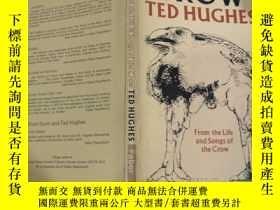 二手書博民逛書店crow罕見ted hughes 烏鴉泰德休斯Y200392