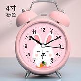 鬧鐘 大音量鬧鈴小鬧鐘學生用高中充電床頭鐘卡通兒童專用靜音時鐘表型【快速出貨八折搶購】